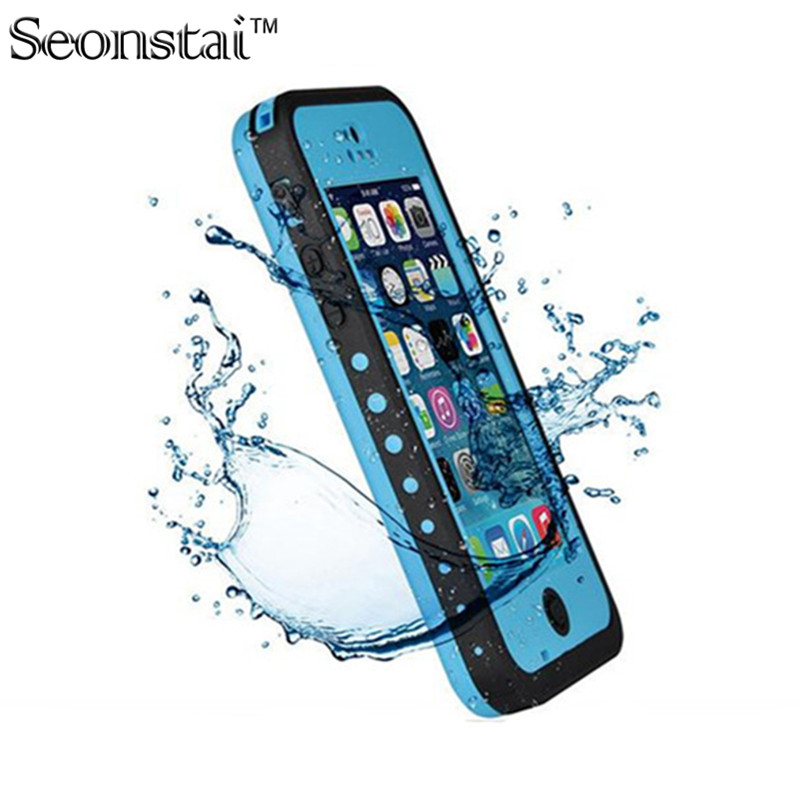 100% Sealed Waterproof Case For iPhone5 5s Slim Luxury Underwater Life DirtProof Shockproof Swim Protective Cover Bag for SE