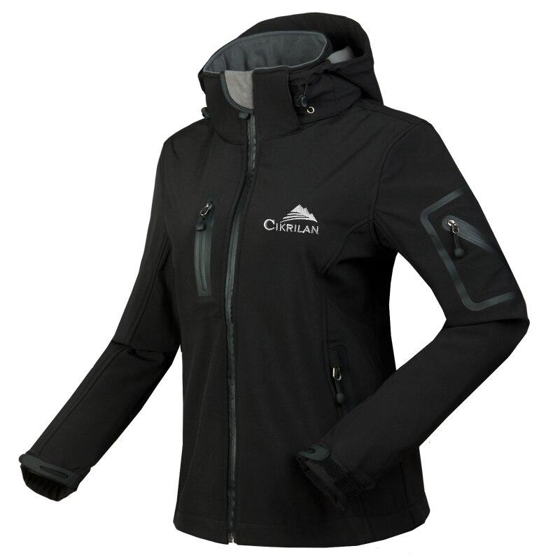 Femmes coupe-vent imperméable à l'eau doux Shell respirant randonnée sport Golf Ski pêche veste de plein air