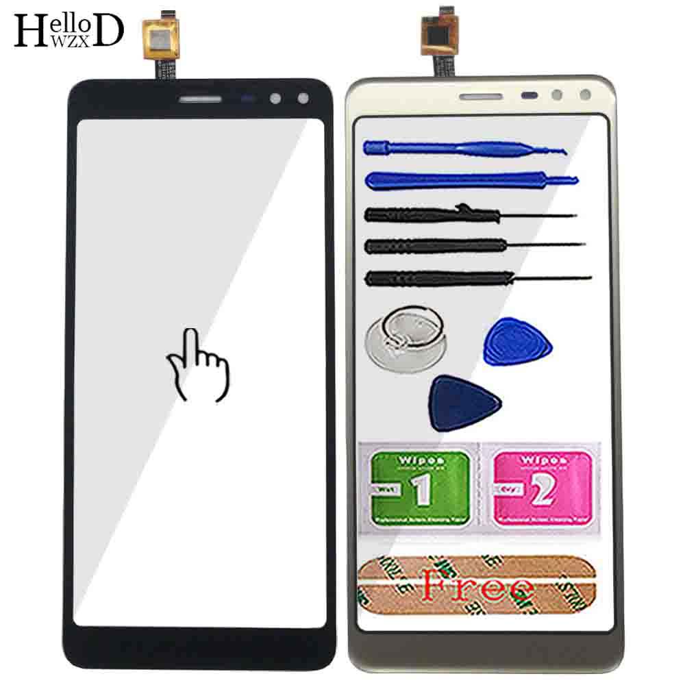 5.5'' Mobile Original Touch Screen For Allcall S1 Touch Screen Digitizer Panel Front Outer Glass Sensor Tools Adhesive Wipes