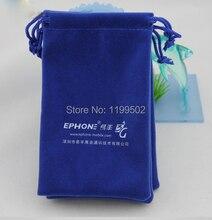 Pequeña bolsa con cordón de tela de terciopelo bolsa de la joyería al por mayor de encargo del regalo bolsa bolsa de regalo de la joyería cosmética perfume zapato anillo reloj