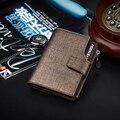 New fashion business men short paragraph wallet zipper money clips