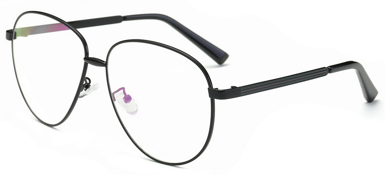 685ebea5170 SojoS Brand New Fashion Vintage Decoration Optica Eyewear Aviator Clear  Lens Metal Frame Men Women Glasses Eyeglasses 5004-in Eyewear Frames from  Apparel ...