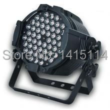 8pcs/lot indoor 54pcs*3W RGBW non-waterproof led wash light led par 64 stage lighting for disco bar
