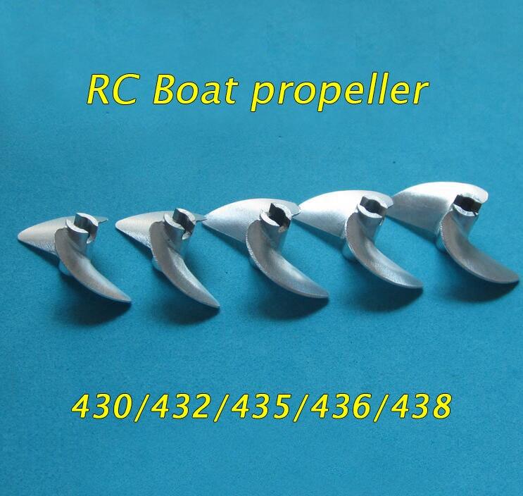 Il trasporto Libero 4mm RC Barca A Vite In Metallo CNC In Alluminio Elica 430/32/33/34/35/36/37/38/39/40/41/42/43/44/45mm Per Barca Da Regata