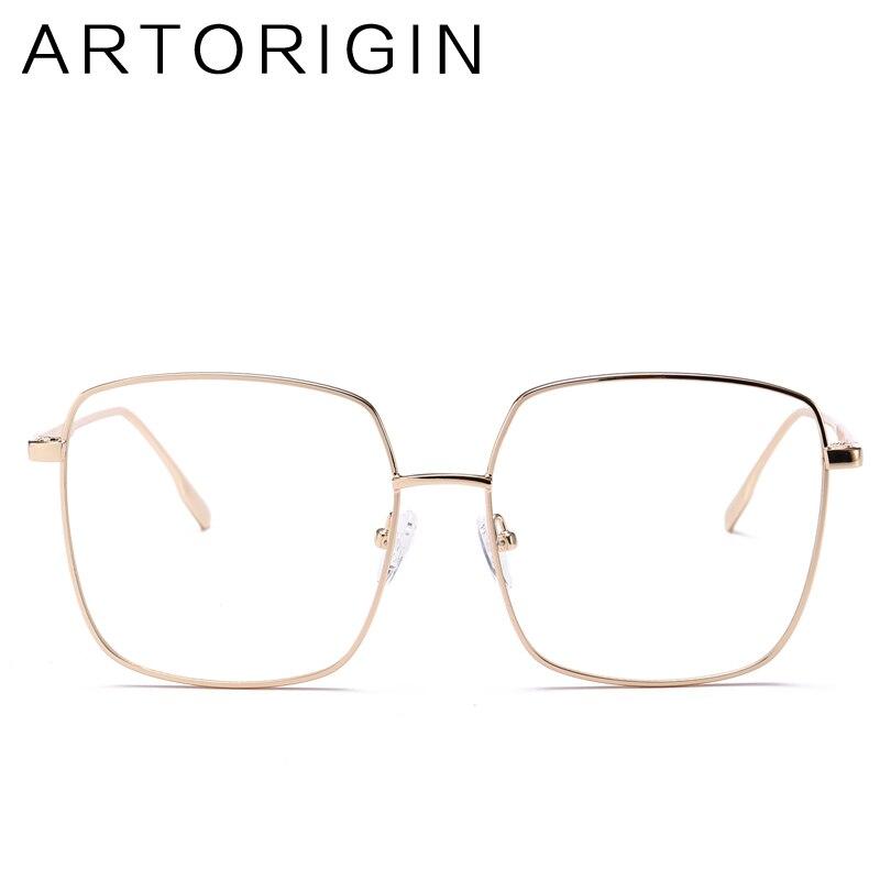 ARTORIGIN Design Square Glasses Frame For Women Men Unisex New 2017 Fashion Optical Frame Ladies Eyeglasses Oculos De Grau