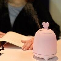 GXZ Cartoon Rabbit Aroma Diffuser Essential Oil Ultrasonic Air Humidifiers Mist Maker Mini Desktop Air Purifier