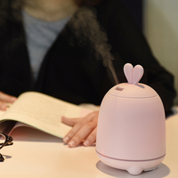 GXZ Cartoon Rabbit Aroma Diffuser Essential Oil Ultrasonic Air Humidifiers Mist Maker Mini Desktop Air Purifier