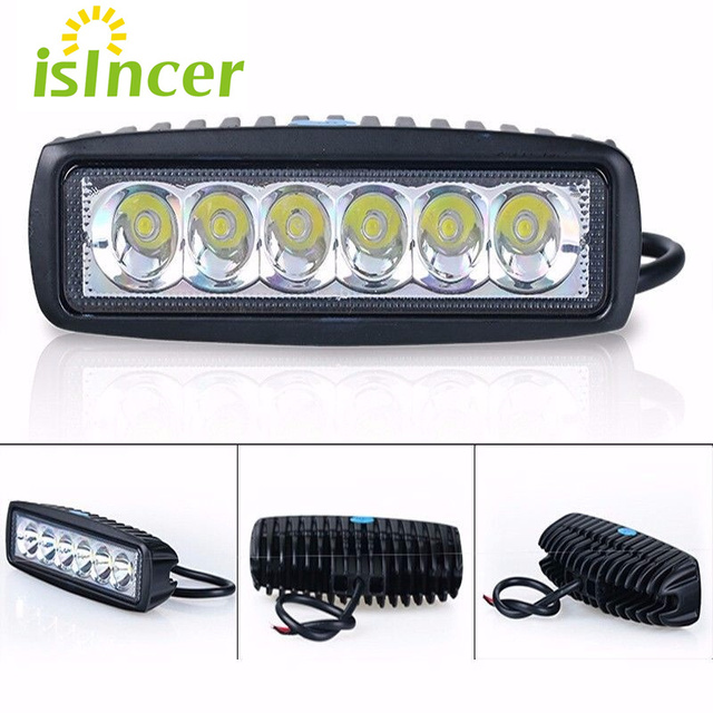 18w floodlight light work led bar driving fog lamp offroad suv 4wd 18w floodlight light work led bar driving fog lamp offroad suv 4wd car boat led work aloadofball Choice Image