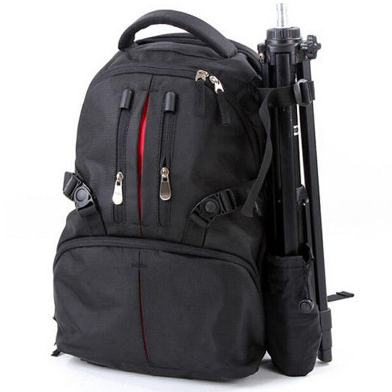 Haute qualité multifonction professionnel double épaule sac à dos sac à dos sac de voyage pour canon nikon sony DSLR appareil photo