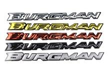 KODASKIN Motorcycle 3D Raise Burgman Stickers Decals Emblem for Suzuki Burgman AN125 AN200 AN400 AN650