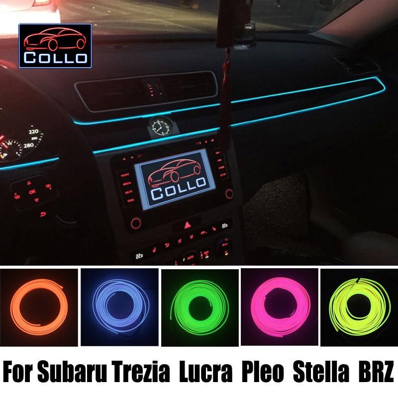 ⑦Newest DIY EL Wire For Subaru Trezia / Lucra / Pleo / Stella / BRZ ...