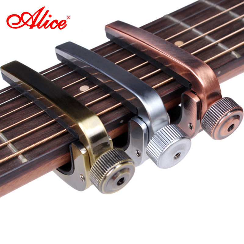Alice Brand Capo For Acoustic Classical Electric Guitar Fine Tune Style High Quality Aluminum Alloy Guitarra Capos A007J hot 8x meideal capo10 acoustic electric guitar quick change trigger capo clamp black