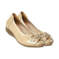 Hot Fashion Handmade Genuine Leather Ballet Women Female Casual Shoes Women Flats Shoes Slip On Car