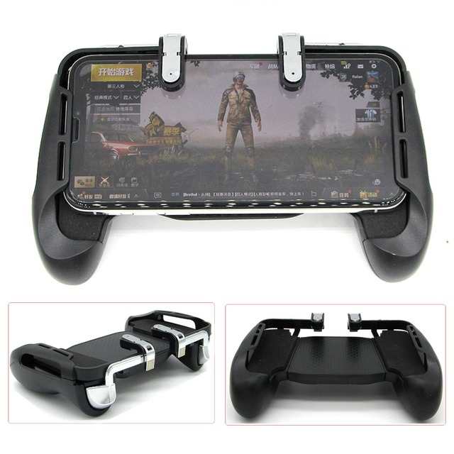 PUBG Mobile Game Fire Button Aim Key Smart phone Gaming Trigger Shooter Controller Gamepad For iPhone Samsung Integrated handle