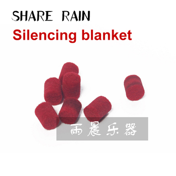 Sax instrument maintenance Special-purpose Shuttlecock ball Retaining sponge Silencing blanket image