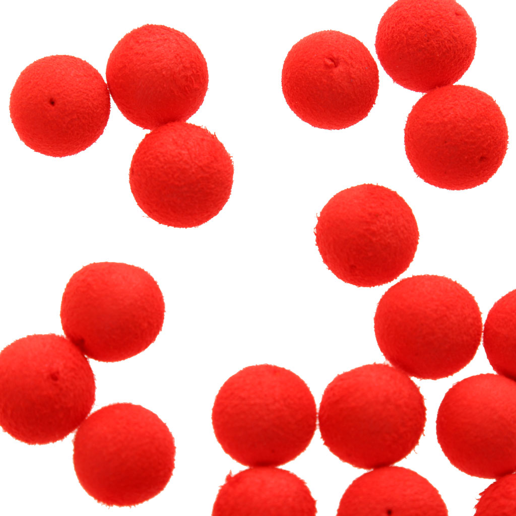 30Pcs Round Rig Fishing Floats Beads 3 color Fishing Balls Floating Carp Sea Fishing Lure Colorful Hard Assorted Smell bass bait