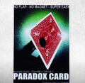 Free shipping Paradox Card Card Magic Tricks Illusion Prop Mentalism magic props