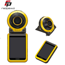 Casio Exilim FR100 3.0″ LCD Separable Action Camera 10.2MP 1/2.3inch CMOS Sensor 16mm Super Wide-angle F2.8 WiFi BT Sport Camera