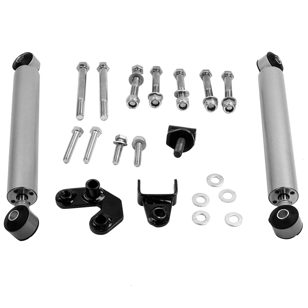Dual Steering Stabilizer Kit for Jeep Cherokee XJ Wrangler TJ Dual Steering Stabilizer Kit 1984-2006 Damper car accessories