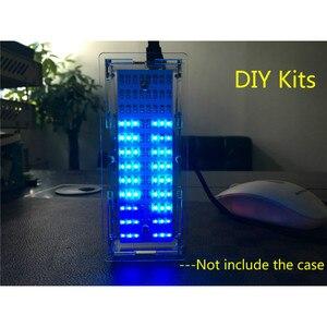 Image 3 - AIYIMA Singlechip LED 音楽スペクトラムアナライザオーディオレベルインジケータ MP3 Pc アンプインジケータモジュール Diy キット