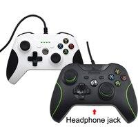 Hot Bán USB Dây Điều Khiển Cho Xbox One S Video Game Mando Đối Với Microsoft Xbox One Mỏng Controle Jogo Cho Windows PC Gamepad