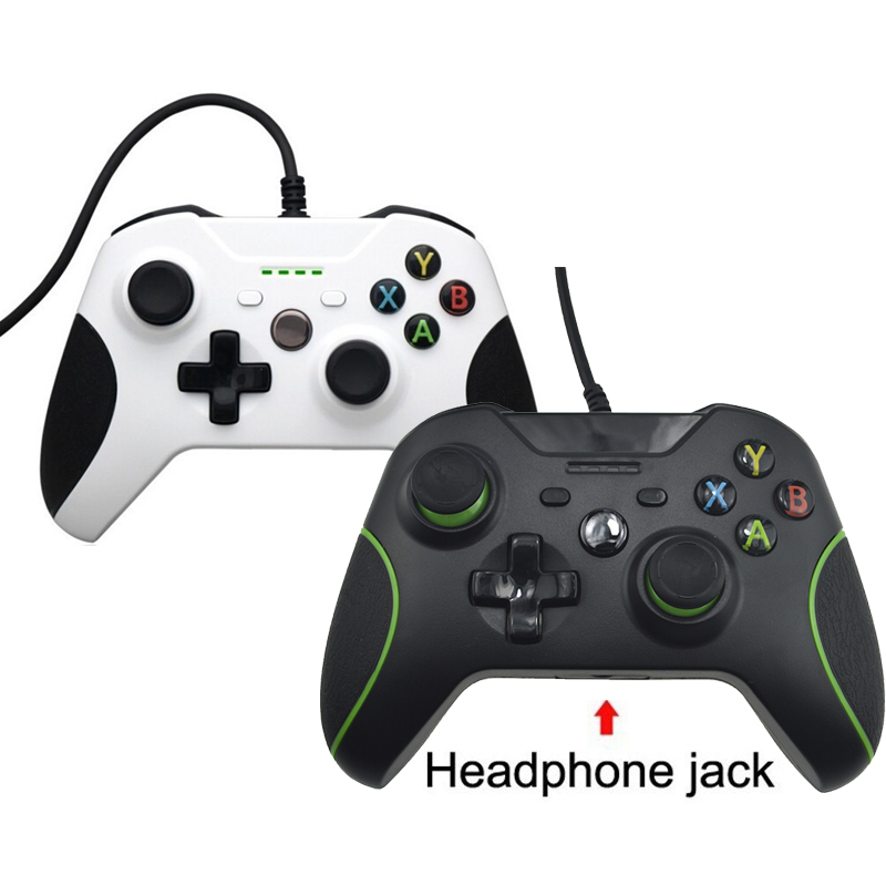 Hot Sale USB Wired Controller For Xbox One S Video Game Mando For Microsoft Xbox One Slim Controle Jogo For Windows PC Gamepad usb wired microphone for ps3 for ps4 for xbox one xbox one slim for xbox 360 xbox 360 slim for wii pc console