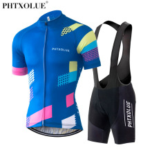 Phtxolue Cycling Clothing Set Bike Men Maillot Ciclismo Wear Clothes Jersey 2017 Pro