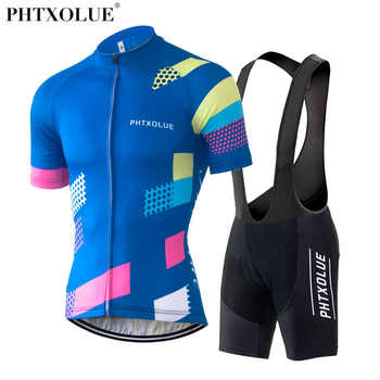 Phtxolue 2019 Pro Cycling Clothing Cycling Set Bike uniform Summer Mans Cycling Jersey Set Road Bicycle Jerseys MTB Bicycle Wear - DISCOUNT ITEM  30% OFF Sports & Entertainment