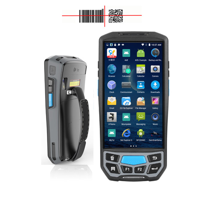 US $292 05 |China factory direct sale industrial wireless 4G rugged  portable honeywell pda android barcode scanner 2D 1D handheld terminal-in  Scanners