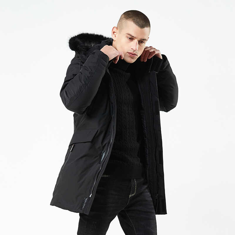 2019 ホット販売男性冬 Wram パーカ軍品質ジャケットメンズファッションカジュアルルースメンズジャケットスポーツウェアジャケットメンズロングコート