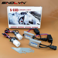2014 New Car Accessories Styling 12V 35W AC Upgraded HID Xenon Headlight Fog Lights Lamp Kit