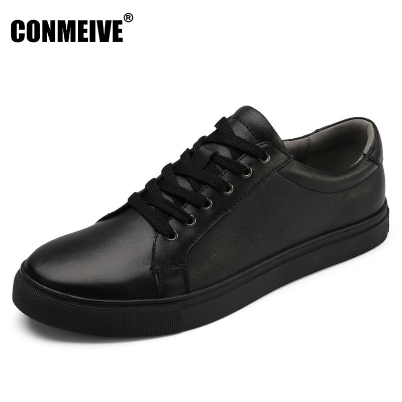 Real Autumn Winter Shoes Men Genuine Leather Lace-Up Mens Casual Handmade Fashion Luxury Brand Flat Breathable Flats Male Shoe 2015 new fashion british martin causal genuine leather men shoes brand camel men shoes real leather men flats casual shoes man