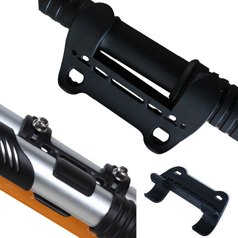 1X Cycling Bike Bicycle Pump Holder Pump Retaining Clips Folder Bracket HolderYL