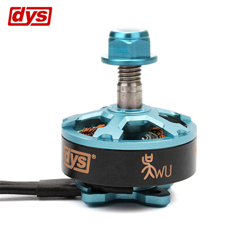 DYS Samguk Series Wu 2206 2400KV 2700KV 3-4S Brushless Motor CW for RC Models Multicopter Frame Propeller VS Shu Wei t motor series mn3515 400kv navigator series motor for quad hexa octa multicopter