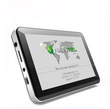 HOT! 5 inch Car GPS Navigation Sat Nav CPU800M Wince6.0+128M/4GB+FM Transmitter+Multi-languages+Free latest Maps
