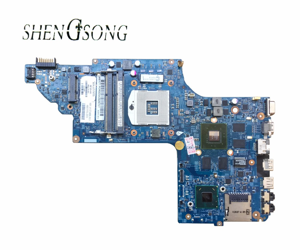 682170-501 Free Shipping laptop motherboard 682170-001 for HP Pavilion DV6 DV6-7000 630M/2G Notebook PC systemboard 100% Tested 744009 501 744009 001 for hp probook 640 g1 650 g1 motherboard socket 947 hm87 ddr3l tested working