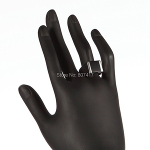Image 5 - Модные Винтажные обручальные кольца Eulonvan из черной смолы, серебро 925 пробы, для мужчин, Прямая поставка, искусственная кожа, размер 6   13