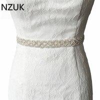 יוקרה של האופנה הנשים חגורות כלה יהלומים מלאכותיים בעבודת יד פרחי קריסטל הכלה אבנטי חגורת אבנט שושבינה שמלה