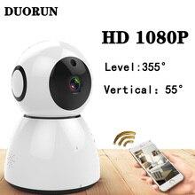 DUORUN snowman Smart Mini IP Camera CCTV 1080P HD Night Vision Baby Monitor Wireless home WIFI Security Surveillance Camera 200W