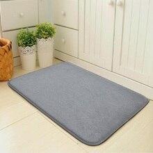 Alfombra Simple moderna para puerta de entrada, alfombra para puerta estera dormitorio, alfombrilla absorbente para suelo, alfombrilla para baño y cocina