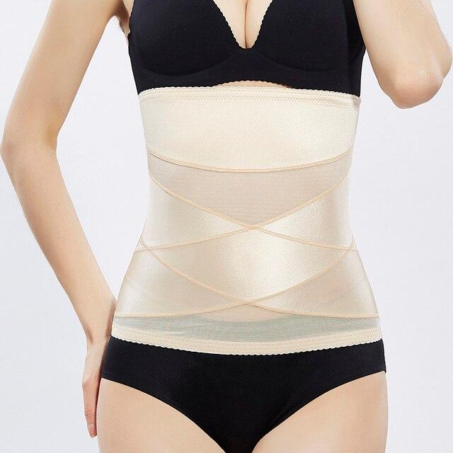 ZTOV Postpartum female Slimming Belt Waist trainer Strap Maternity women waist Shaper Girdle Corrective Abdomen Underwear XXL