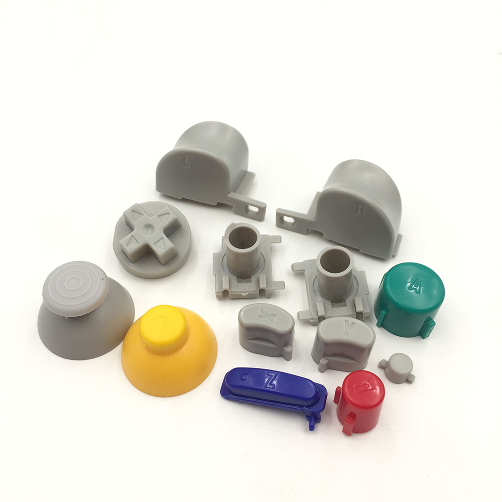 30sets Trigger Buttons L R D pad Mod Kit Set for Nintendo NGC GameCube Controller Thumbstick