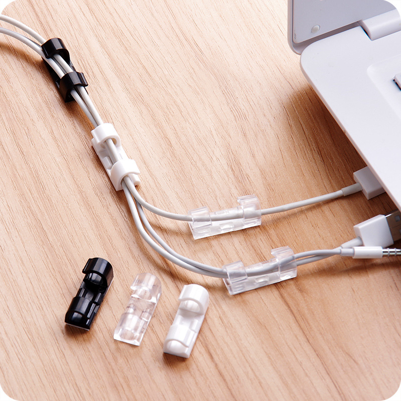 usb charger data cable fixing clamp with adhesive wire tie cableusb charger data cable fixing clamp with adhesive wire tie cable wire organizer home socket cable fixed storage device in cable winder from consumer