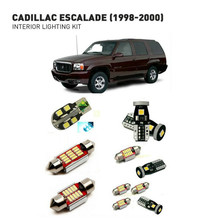 Led interior lights For Cadillac escalade 1998-2000 14pc Led Lights For Cars lighting kit automotive bulbs Canbus Error Free цена