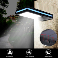 Solar Power Light 144LED PIR Motion Sensor Outdoor Waterproof IP65 Garden Security Lamp LED Garden Light Wall street Lamp
