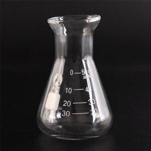 50ml Transparent Lab Conical F