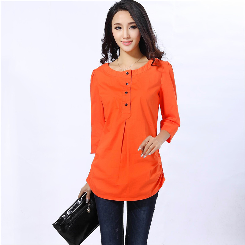 New Aliexpress.com  Buy Women Casual Shirts Top Fashion 2016 Summer Style Short Sleeve Chiffon ...