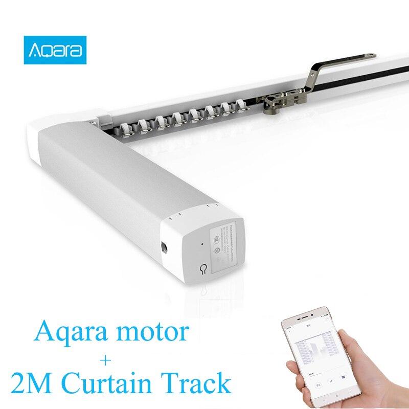 Оригинальный Xiao mi Aqara умный дом занавес мотор ZigBee 2,4 ГГц Беспроводная работа с mi APP с 2 м занавес дорожки