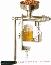 High Quality DIY Stainless Steel Manual Oil Press Machine Oil Expeller Machine