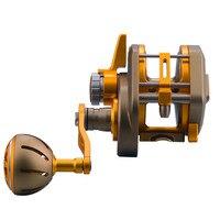 Спиннинг Троллинг Fly Рыбалка Катушка 30 кг перетащите мощность пресноводный морская приманка для море лодка металлический барабаны колеса